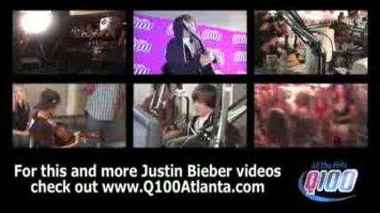 Justin Bieber playing The Climb