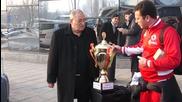 ЦСКА показа Купата на мъчениците в София