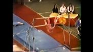 Смешен гимнастик (смях в залата)