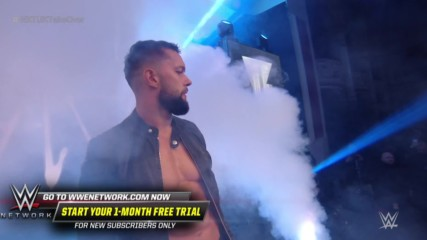 Finn Bálor enters as a surprise replacement for Travis Banks: NXT UK TakeOver: Blackpool (WWE Network Exclusive)