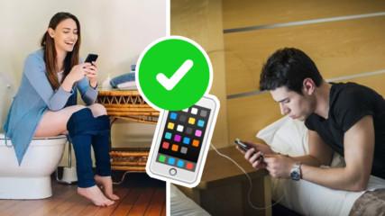 Тези 7 всекидневни навика убиват телефона ви! Как да удължите живота му?