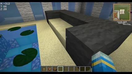 Minecraft-house and Staidium