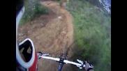 Планинско Колоездене - Изглед От Каската (helmetcam)