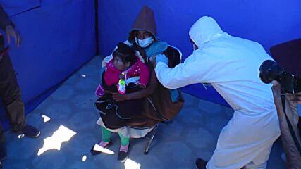 Bolivia: Remote indigenous community in Oruro receives coronavirus vaccine jabs