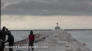 Езеро Мичиган е замръзнало 8.3.2014