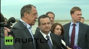 Serbia: Russia commends Serbia's chairmanship of the OSCE - Lavrov