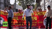 Peru: Anti-mining strikes in Arequipa continue into second day