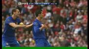Кристияно Роналдо гол от пряк свободен срещу Арсенал!!
