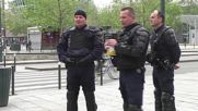 France: Riot police patrol Rennes ahead of police brutality protest