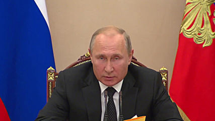 Russia: Putin orders 'symmetrical response' to US missile test