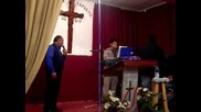 brat pastor hristo s brat mecho v carkva pat kam raq v sofia 2009