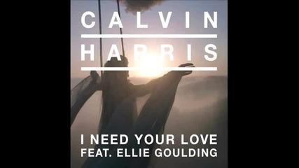 Calvin Harris feat. Ellie Goulding - I Need Your Love (mad Mylene Remix)