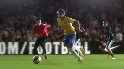 Роналдо, Неймар и други в най-новата реклама на Nike