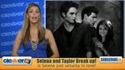 Скъсаха Ли Selena Gomez и Taylor Lautner ?