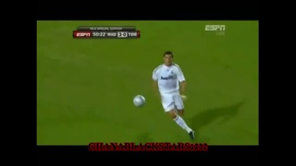 Cristiano Ronaldo skills in Real Madrid 2009