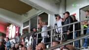 Христо Крушарски празнува след първия гол на Локо Пд
