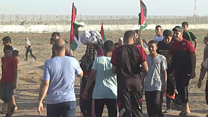 State of Palestine: At least 63 Palestinians injured by Israeli forces in Gaza border protest