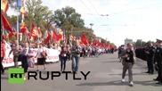 Молдова: Хилади маршируват в Анти-правителствен парад в Кишинев