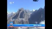 скок с парашют от еверест за пръв път в историята до сега !!!