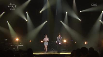 Jonghyun & Taeyeon - Lonely @ Sketchbook