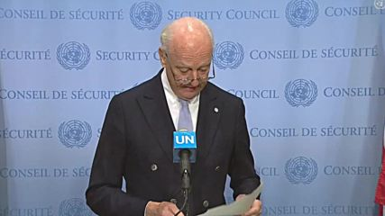 UN: Syria envoy De Mistura confirms resignation for family reasons