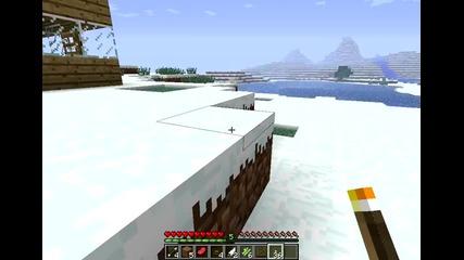 Оцеляване на Minecraft Епизод 1 .
