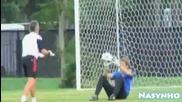 Бербатов тренира с Манчестър Юнайтед в Сащ