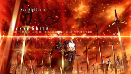 Brave Shine by Aimer