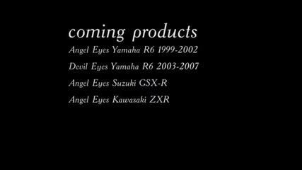 Angel Eyes Devil Eyes for Motorbikes Yamaha R6 R1