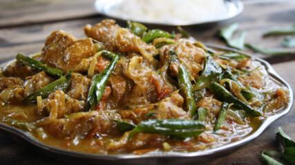 Къри със свинско, люти чушки и тамаринд | Индия с Рик Стайн | 24Kitchen Bulgaria