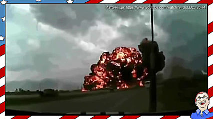 Самолетна катастрофа, заснета на камера