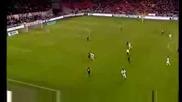 Hoogtepunten Ajax - Slavia Praag (2 - 2)