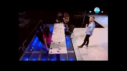 Гласят Наско за победител в Х Фактор (видео зад кулисите)