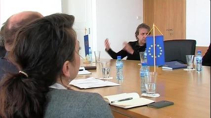 Зам.главният секретар Мвр, кметът Николай Димитров и консулът на Великобритания в Несебър