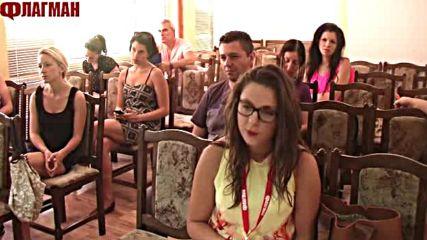 Пресконференция на Николай Тишев, общински лидер на БСП в Бургас