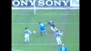 Гол На Roberto Baggio - Juventus - Brescia