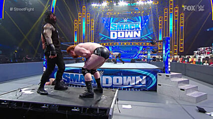 Roman Reigns & Jey Uso vs. Sheamus & King Corbin – Samoan Street Fight: SmackDown, Sept. 18, 2020