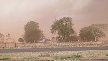 Brazil: Massive dust and sand storm hits Sao Paulo state