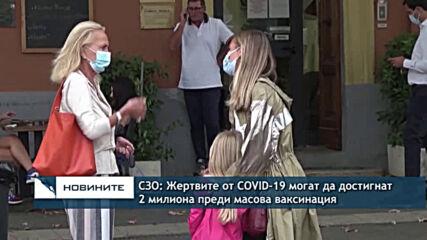 СЗО: Жертвите от COVID-19 могат да достигнат 2 милиона преди масова ваксинация