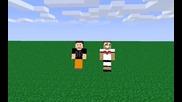 Minecraft Animation 3 С сашо правим дует Шишарките