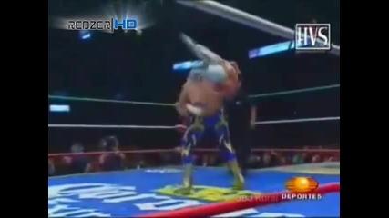 За 1 път в историята на кеча! Син Кара срещу Рей Мистерио