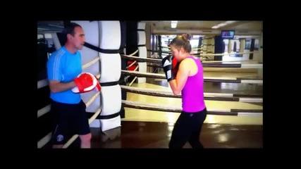 Тренировка по бокс с изворна вода Балдаран