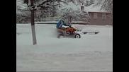 Каране на сняг 2