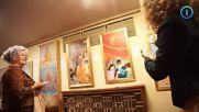 """Видео: Александра Ботева въвежда посетителите в изложбата """"изкуството на Джън, Шан, Жен"""", юли 2018 г"""