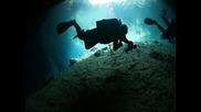 Подводните пещери на Юкатан- подводни кадри-1