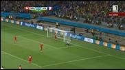 Мондиал 2014 - Швейцария 2:5 Франция - Петлите разбиха Швейцария!