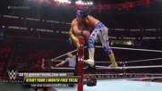 "Sin Cara sends Andrade ""Cien"" Almas flying from the top rope: WWE Extreme Rules 2018 Kickoff Match"