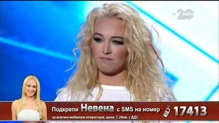 Невена Пейкова - X Factor Live (28.10.2014)