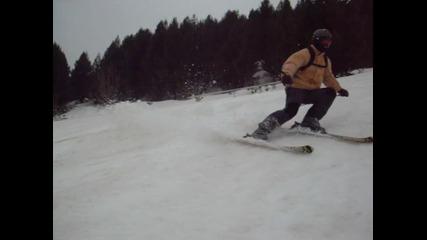 Кольо Кара ски на Добринище 2