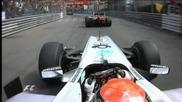 Най - доброто от Гран При на Монако Формула 1 2010
